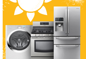 Appliances and Lowe's Gift Cards