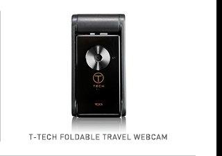 Shop T-Tech Foldable Travel Webcam