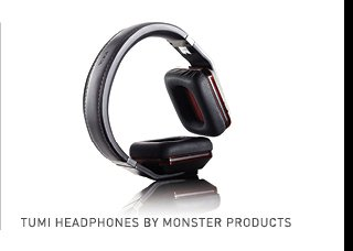 Shop Tumi Headphones by Monster Products