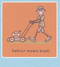 Men's Crusher Tee Father Mows Best