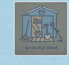 Men's Crusher Tee Grateful Shed