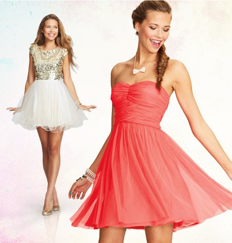 PARTY DRESSES UP TO 20%  OFF
