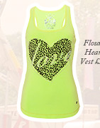 Flouro Heart Vest