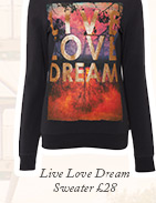 Live Love Dream Sweater