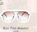 Rose Tint Aviators