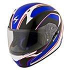 Scorpion EXO-R410 Incline Blue Helmet