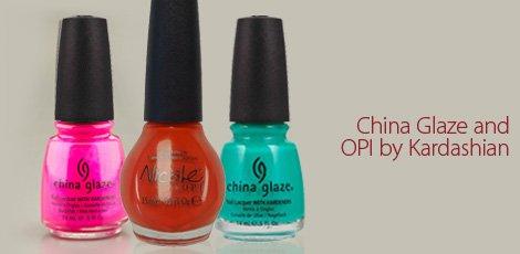 China Glaze and OPI BY Kardashian