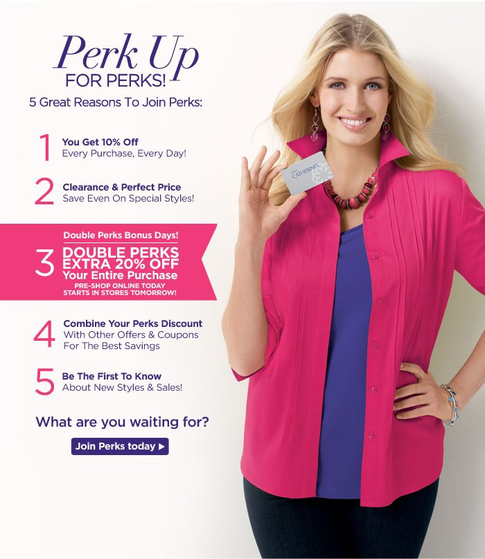 5 Great Reasons To Join Perks!