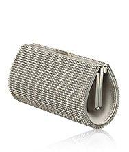 Power Silver Shade Evening Bag