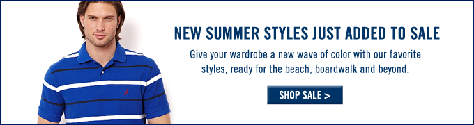 New Summer styles just added to sale! Shop sale.