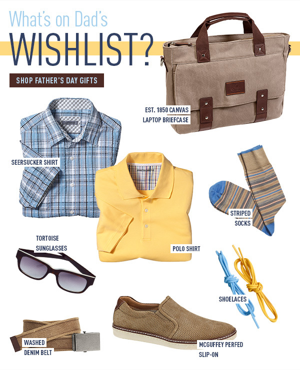 What's on Dad's Wishlist?