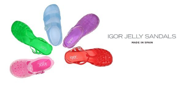 MADE IN SPAIN: IGOR JELLY SANDALS, Event Ends June 11, 9:00 AM PT >