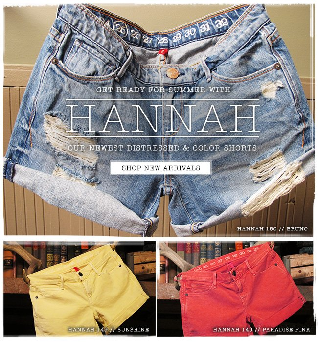 Get ready for summer with Hannah