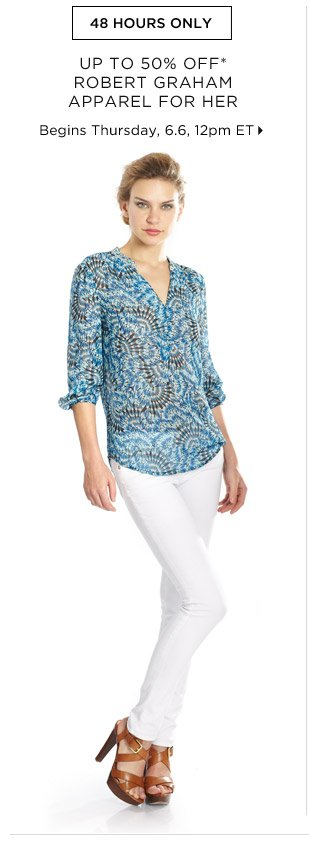 50% Off* Robert Graham Apparel For Her...Shop Now