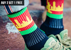 Shop Sock Spree: Strideline & More