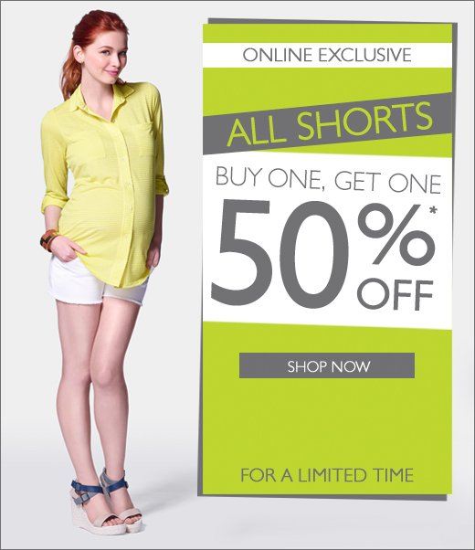 Buy One Get One 50% Off Shorts