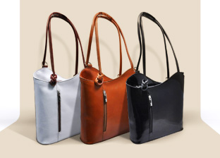 Giulia Leather Handbags. Made in Italy