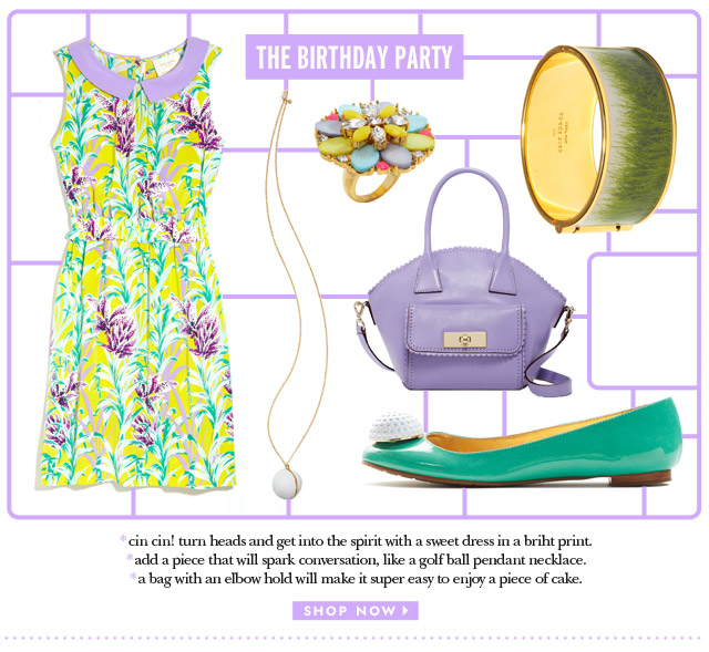 the birthday party. shop now.