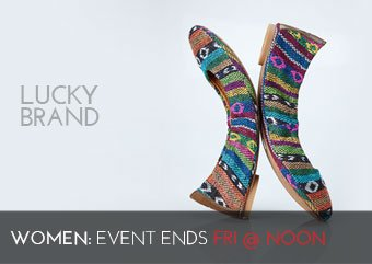 LUCKY BRAND WOMENS SHOES