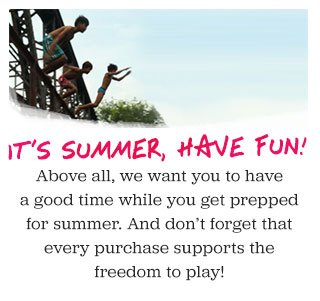 It's summer, have fun!