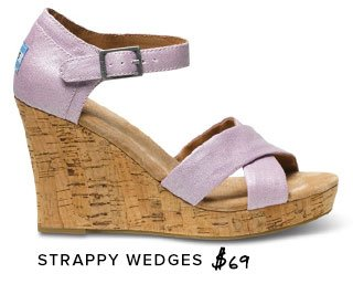 Strappy Wedges - $69
