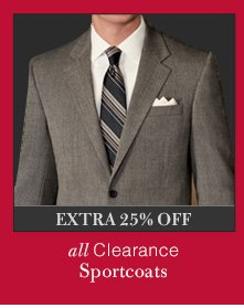 Clearance Sportcoats