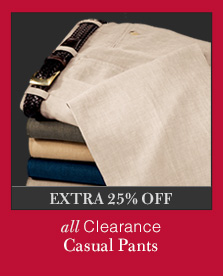 Clearance Casual Pants