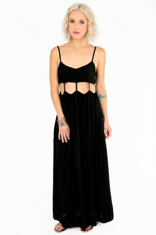 DISCONNECTED MAXI DRESS 47
