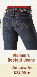 All Womens Bootcut Jeans on Sale