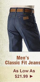All Mens Classic Fit Jeans on Sale