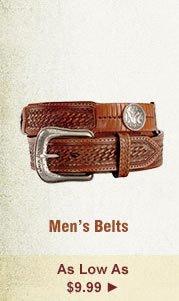 All Mens Belts on Sale