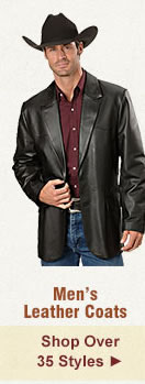 All Mens Leather Coats on Sale
