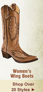 All Womens Wing Boots on Sale