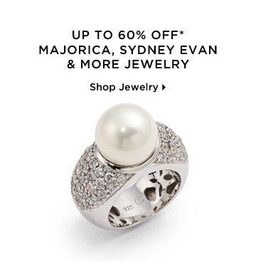Up To 60% Off* Majorica, Sydney Evan & More Jewelry
