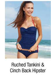 Tankini & Cinch  Back