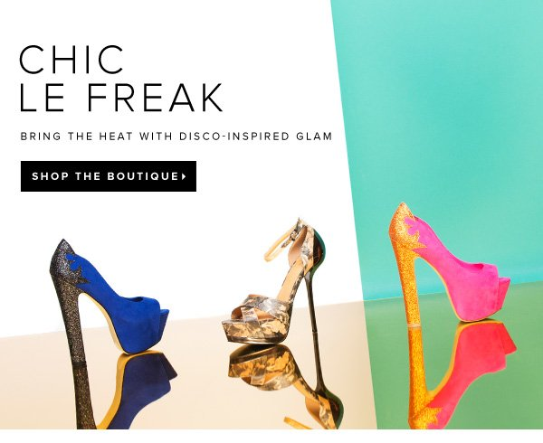Glam Up Your Summer with Disco-Inspired Pieces Shop the Boutique