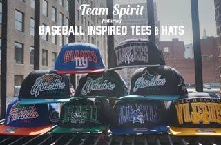 Baseball Inspired Tees & Hats