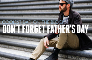 Don't Forget Father's Day: June 16th