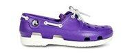 girls' beach line patent boat shoe
