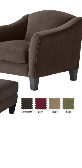 Save Abbie Chair & Ottoman