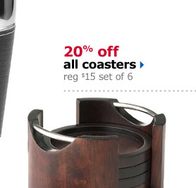 Save on all coasters
