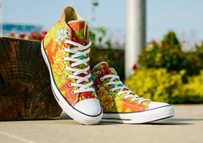 Shop Converse: New Hawaiian Prints & More