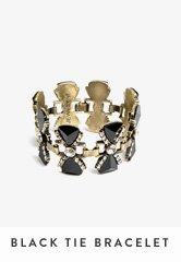 Black Tie Bracelet