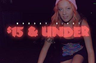 $15 & Under