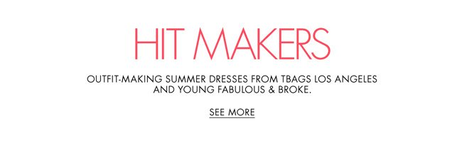 Need a summer dress? Check out outfit-making styles in breezy fits and sunny prints.