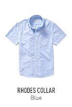 Rhodes Collar Blue
