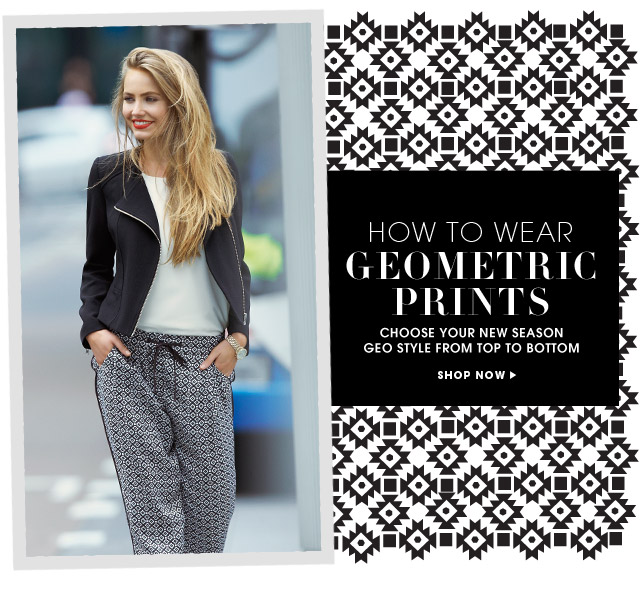 HOW TO WEAR GEOMETRIC PRINTS