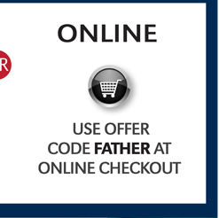 ONLINE | USER OFFER CODE FATHER AT CHECKOUT