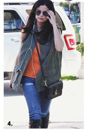 Selena Gomez in the Collin Skinny in Youth Vintage