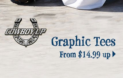 Graphic Tees From $14.99 up